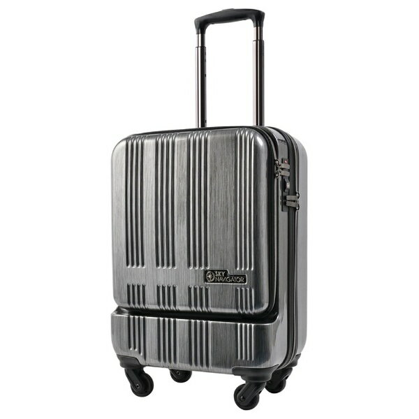 SKYNAVIGATORTSA lock with suitcases at the front opening (35 L) SK-0685-48 gunmetaheart line [SK068548GMHR] [products direct from manufacturers and cod delivery cannot be time between acceptable]
