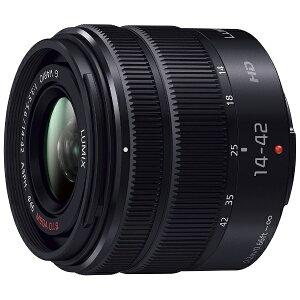 【送料無料】 パナソニック LUMIX G VARIO 14-42mm/F3.5-5.6 II ASPH./MEGA O.I.S.【マイクロフ...