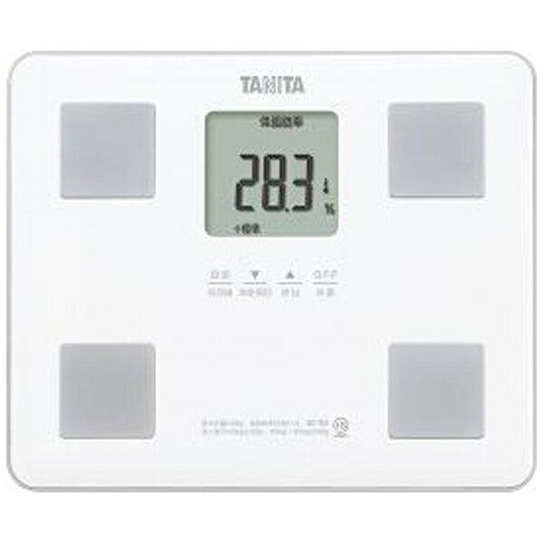 タニタTANITAタニタ体重体組成計健康管理お手軽ダイエットコンパクト小型立てかけ収納OKホワイトBC-760 体重計体脂肪計B