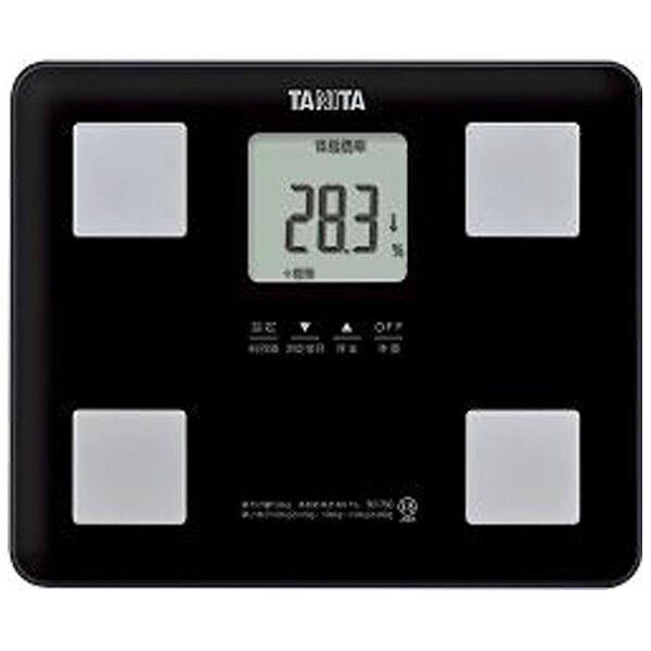 タニタTANITAタニタ体重体組成計健康管理お手軽ダイエットコンパクト小型立てかけ収納OKブラックBC-760 BC760BK