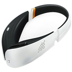 【送料無料】 エコバックス ヘッドフォンスタイル ポータブル空気清浄機 「aria」 ホワイト
