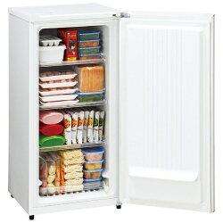 【標準設置費込み】ハイアール《基本設置料金セット》1ドア冷凍庫「HaierLiveSeries」(100L)JF-NU100G-Wホワイト