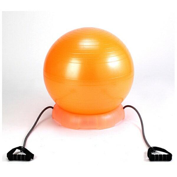 【送料無料】 アルインコ エクササイズボール55セット(オレンジ/φ55cm) EXG124DX