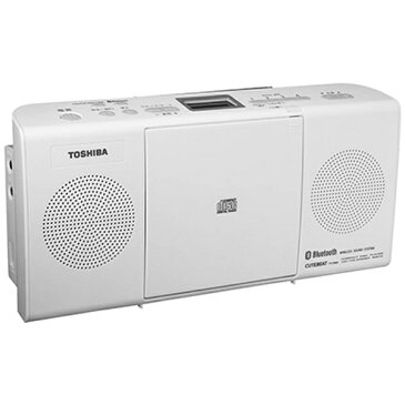 【送料無料】 東芝 TOSHIBA 【ワイドFM対応】Bluetooth対応 CDラジオ(ラジオ+CD)(ホワイト) TY-CW26 W[TYCW26]