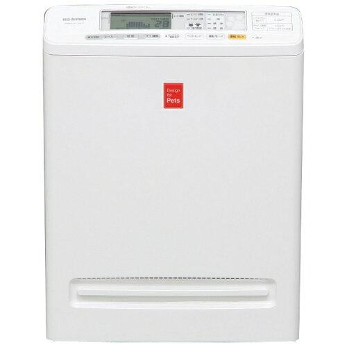 アイリスオーヤマ 空気清浄機 (〜25畳) PMMS-DC100-P ホワイト[PMMSDC100P]