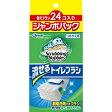 ジョンソン 【スクラビングバブル】 流せるトイレブラシ つけかえ用 ジャンボパック 24個入〔トイレ用洗剤〕