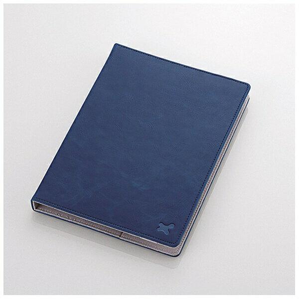 エレコムELECOM7.0〜8.4インチタブレット用[横幅173〜225mm]タブレットケースレザータイプブルーTB-08LCH