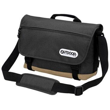 【送料無料】 OUTDOOR アウトドアカメラショルダーバッグ02 (ブラック) ODCSB02BK