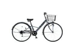 【送料無料】タマコシ27型自転車LAボルテージ276HD(シルバー/6段変速)