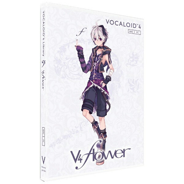 PCソフト, その他  gynoid WinMac VOCALOID4 Libraryv4 flowerGVFJ10001
