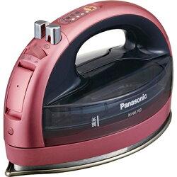 【2015年9月発売】【送料無料】パナソニックコードレスアイロン(ピンク)NI-WL703-PP(ピンク)