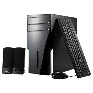 【送料無料】 マウスコンピュータ デスクトップPC モニターなし テリヤキバーガー[Win10] SPR...