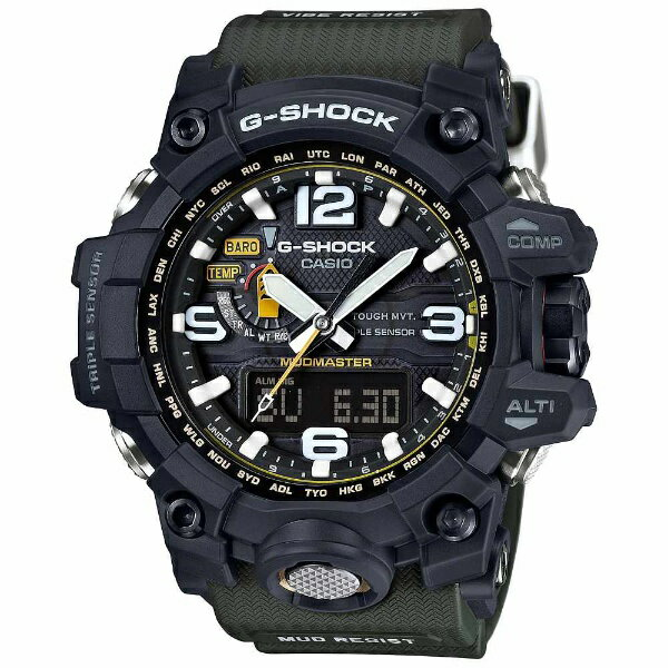 腕時計, メンズ腕時計  CASIO G-SHOCKG- Master of G MUDMASTERG TOUGH MVT. MULTI BAND 6 GWG-1000-1A3JFGWG10001A3JF