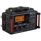 【送料無料】 TASCAM 【ハイレゾ音源対応】ミキサー統合型カメラ用リニアPCMレコーダー【SDHCカード記録型】 DR-60DMK2[DR60DMK2]