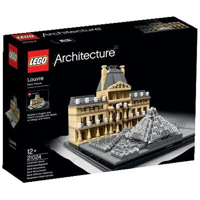 【あす楽対象】【送料無料】 レゴジャパン LEGO 21024 アーキテクチャー ルーブル美術館