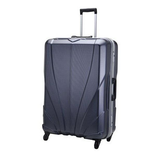 フルボTSAロック搭載スーツケースディライト(93L)FB0813-CKNVチェックネイビー[FB0813CKNV]【メーカー直送品・代金引換配送不可・時間指定不可】