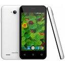 【送料無料】 COVIA(コヴィア) [LTE対応]SIMフリースマートフォン「FLEAZ POP CP-L42A」(ホワイト)[CPL42A]