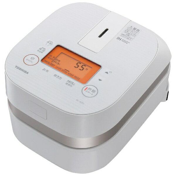 "Toshiba IH cooker ""bincho charcoal oven this pails"" (if 2.5) RC-4ZPJ-W Grand white [RC4ZPJ]"