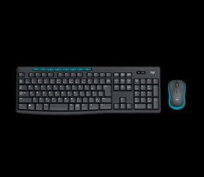 ロジクールワイヤレスキーボード[2.4GHzUSB・Chrome/Win]&マウスワイヤレスコンボ(108キー・ブラック)MK275
