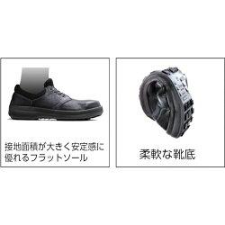 【送料無料】シモン安全靴短靴SL11-BL黒/ブルー27.5cmSL11BL27.5