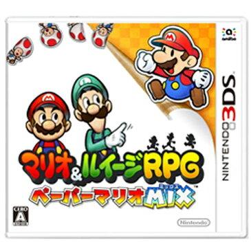 任天堂 マリオ&ルイージRPG ペーパーマリオMIX【3DSゲームソフト】