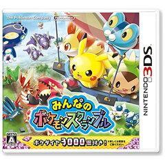 【2015年11月19日発売】 任天堂 みんなのポケモンスクランブル【3DS】