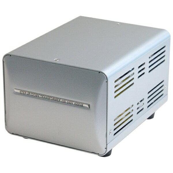 柏村海外國研究大型變壓器 220-240 V/1500 VA WT-13EJ [WT13EJ]