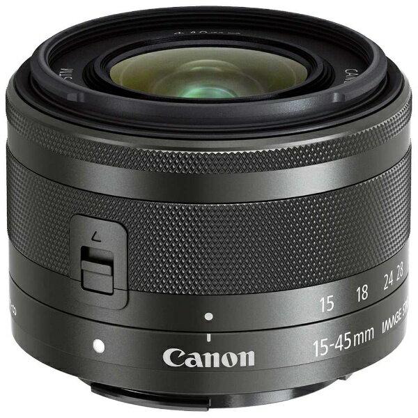 カメラ・ビデオカメラ・光学機器, カメラ用交換レンズ  CANON EF-M15-45mm F3.5-6.3 IS STM EF-M EFM1545ISSTM
