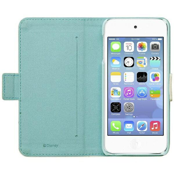 PGA iPod touch 5G&6G専用 ディズニーキャラクターフリップカバー エルサ PGIT5DF04FRZ