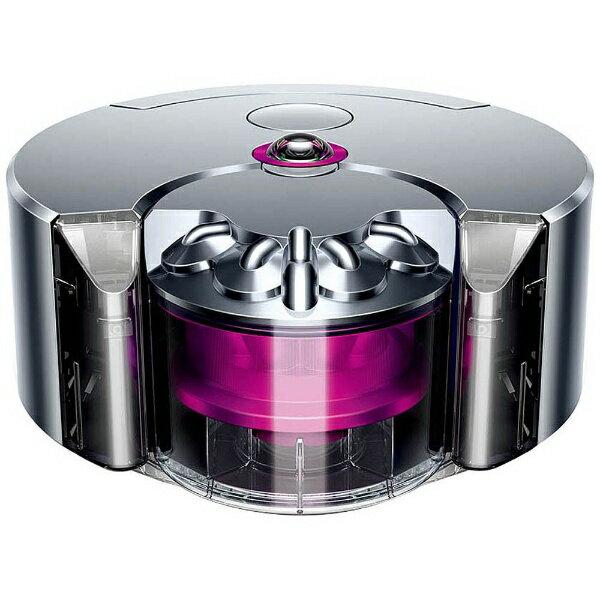 Dyson [Japanese regular Edition] robot vacuum cleaner Dyson 360 eye RB01 nickel / Fuchsia