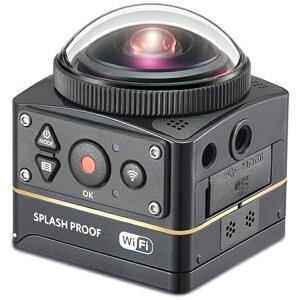 【送料無料】 コダック マイクロSD対応・4K対応 360°アクションカメラ Kodak PI…