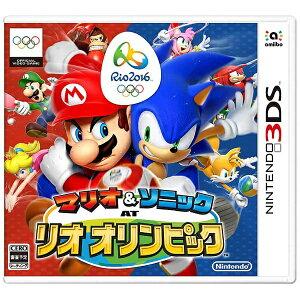 【あす楽対象】 任天堂 マリオ&ソニック AT リオオリンピックTM【3DSゲームソフト】