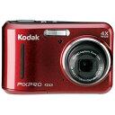 コダック Kodak FZ43 コンパクトデジタルカメラ PIXPRO レッド[FZ43RD]