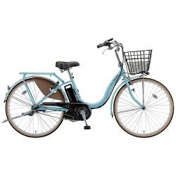 【送料無料】 ブリヂストン 24型 電動アシスト自転車 アシスタベーシック(E.Xマリノブルー/内装3段変速) A4B16【2016年モデル】【組立商品につき返品】 【配送】
