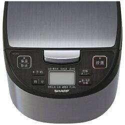 【2015年12月18日発売】【送料無料】シャープ炊飯ジャー(5.5合)KS-S10J-Sシルバー