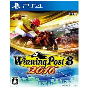 【送料無料】 コーエーテクモゲームス Winning Post 8 2016【PS4ゲームソフ…