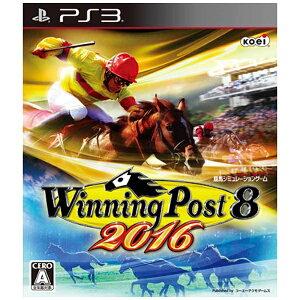 【送料無料】 コーエーテクモゲームス Winning Post 8 2016【PS3ゲームソフ…