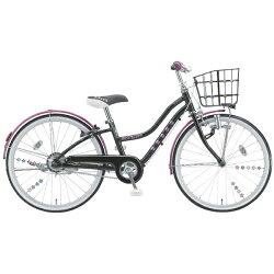 【送料無料】ブリヂストン20型子供用自転車ワイルドベリー(ブラックパンサー/シングルシフト)WB006【2016年モデル】【配送】