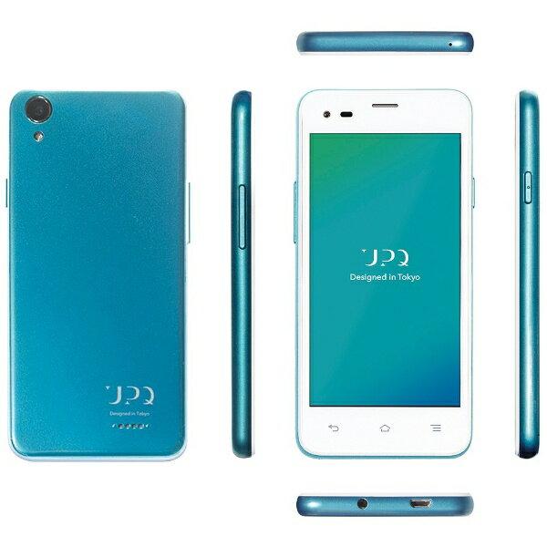 【送料無料】 UPQ UPQ Phone A01X ホワイトBG「QASP001WBX」 Android 5.1・4.5型・メモリ/ストレ...