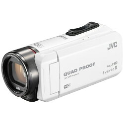 【送料無料】JVCSD対応64GBメモリー内蔵防水・防塵・耐衝撃フルハイビジョンビデオカメラ(ホワイト)GZ-RX600-W[生産完了品在庫限り][GZRX600]