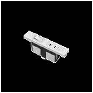 パナソニック Panasonic 家具用ミニスイッチ付コンセント WF2049W 白[WF2049W] panasonic