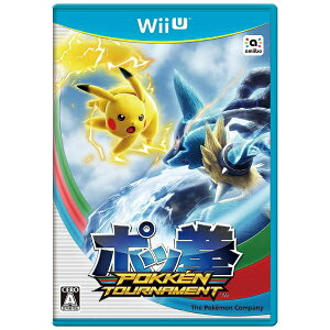【あす楽対象】【送料無料】 ポケモン ポッ拳 POKKEN TOURNAMENT【Wii Uゲ…