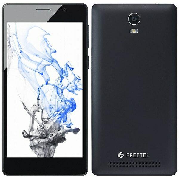 【送料無料】 FREETEL Priori3S LTE マットブラック「FTJ152B-PRIORI3S-BK」 Android 5.1・5型・メモリ/ストレージ:2GB/16GB microSIMx1 nanoSIMx1 SIMフリースマートフォン