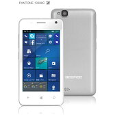 【送料無料】 ジェネシスカンパニー geanee ホワイト 「WPJ40-10-WH」 Windows Phone 10 Mobile・4型・メモリ/ストレージ:1GB/8GB microSIMx1 SIMフリースマートフォン
