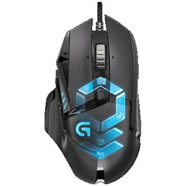 【送料無料】 ロジクール 有線光学式ゲーミングマウス[USB 2m・Win] G502 RGB チューナブル (12ボタン・ブラック) G502RGB