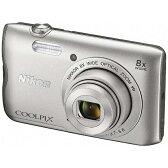 【送料無料】 ニコン コンパクトデジタルカメラ COOLPIX(クールピクス) A300(シルバー)