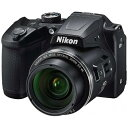 ニコン Nikon 【エントリーでポイント最大37倍 マラソン期間限定】B500 コンパクトデジタルカメラ COOLPIX(クールピクス) ブラック[B500BK]
