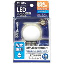 エルパ LED装飾電球 G40 防水