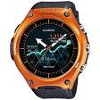 【送料無料】 カシオ スマートウォッチ 「Smart Outdoor Watch」(オレンジ) WSD-F10RG