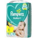 P&G ピーアンドジー Pampers(パンパース) さらさらケアテープ スーパ−ジャンボ Sサイズ(4kg-8kg) (82枚) 〔おむつ〕【rb_pcp】